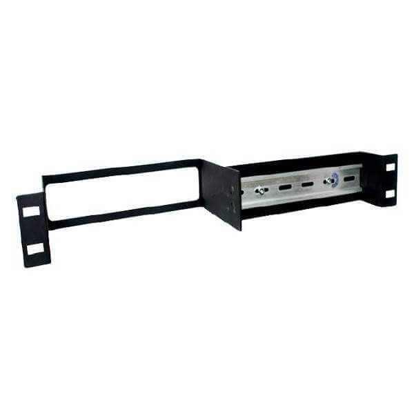 Split 1U Din Rail Rack Mount Kit voor sensorProbe / securityProbe