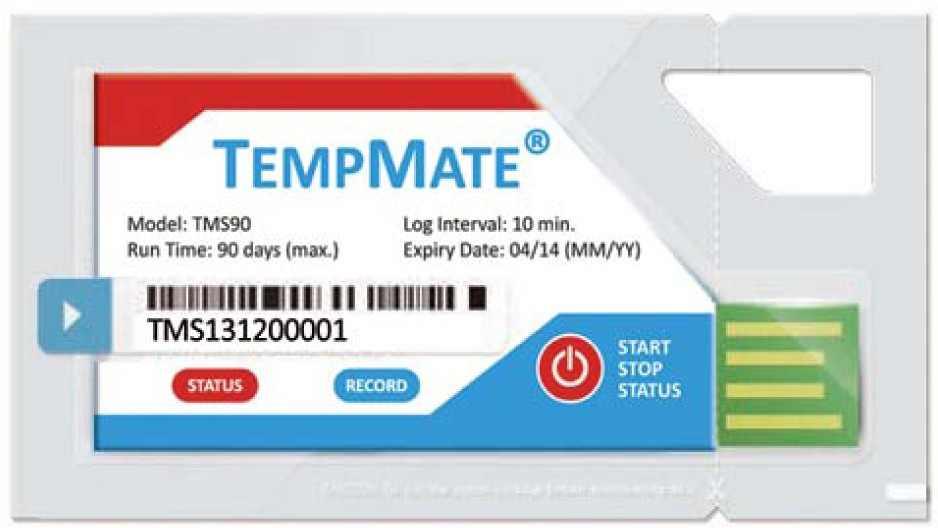TEMPMATE Temperaturlogger