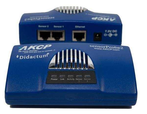 SensorProbe2 - 2 puertos de dispositivos inteligentes de monitoreo