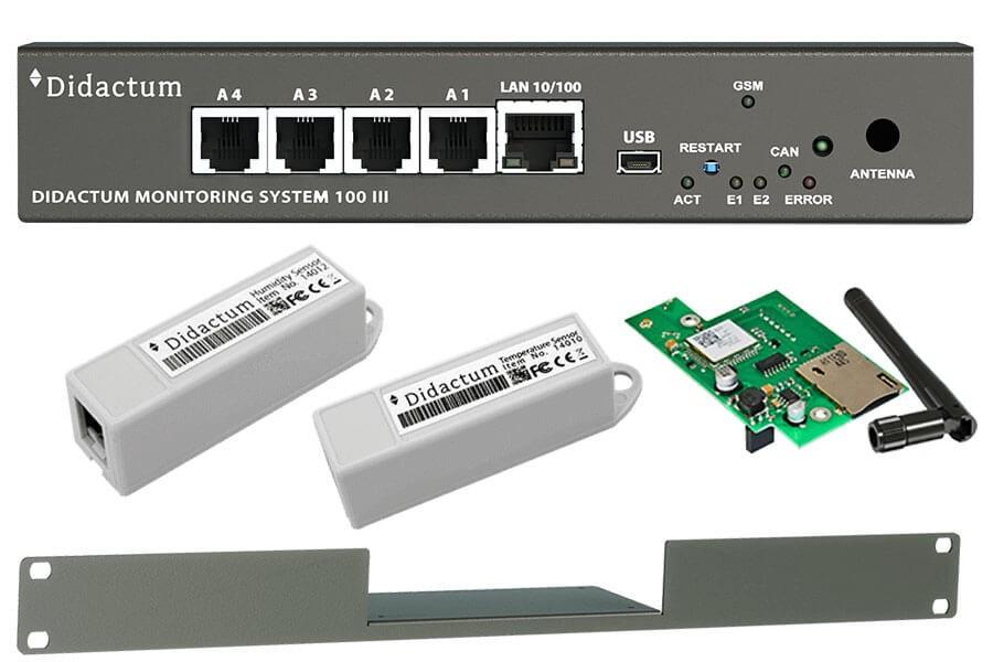 Monitoring System 100 Überwachung Klima / SMS