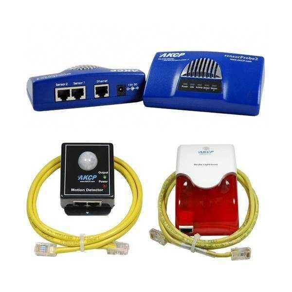 AKCP sensorProbe2 Bundle - Bewegung & Alarm