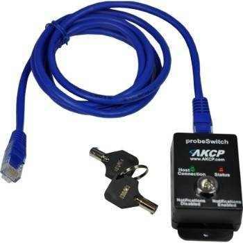 AKCP probeSwitch für Wartungsarbeiten