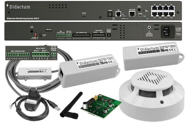 Monitoring System 500 Remote Site Monitoring