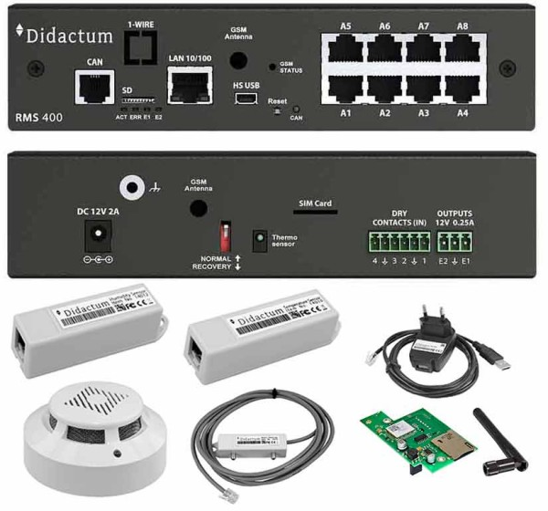 Monitoring System 400 Remote Site Monitoring