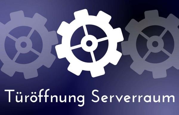 Tueroeffnung-Zutritt-Serverraum