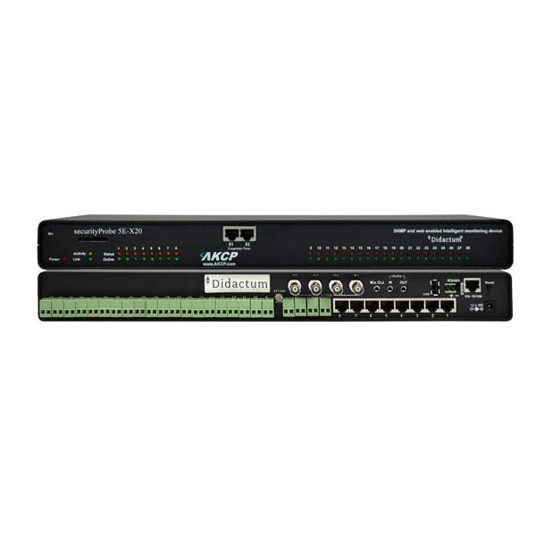AKCP securityProbe-5E-X20 Alarm Server