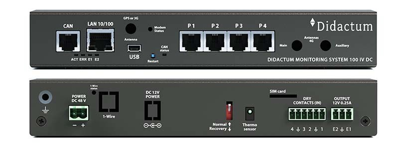 Monitoring System 100 DC