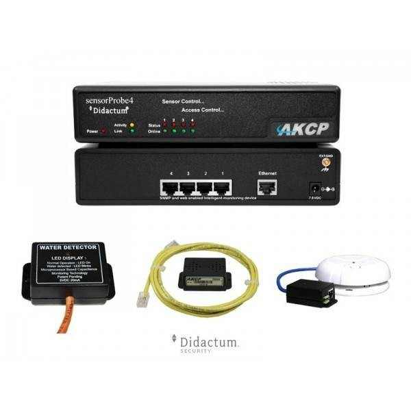 AKCP sensorProbe4 Monitoring Bundle