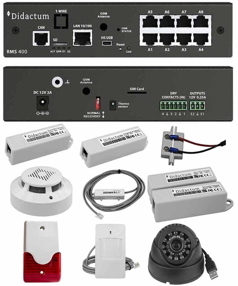 Monitoring System 400 - Alarm und Überwachung