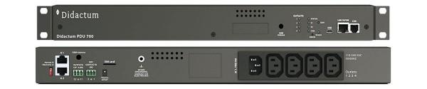 PDU 700 mit 4 schaltbaren Ausgängen