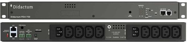 Intelligente PDU mit 8 Ports