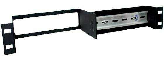 Split 1U Din Rail Rack Mount Kit
