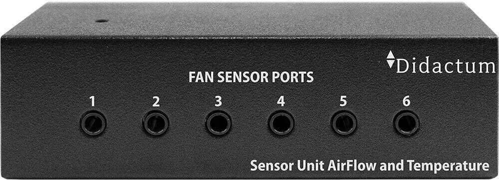 Gecombineerde sensor unit luchtstroom en de temperatuur