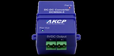 12-24V DC to 5V DC Converter for sensorProbe series