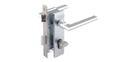 Electronic door lock with locking cylinder