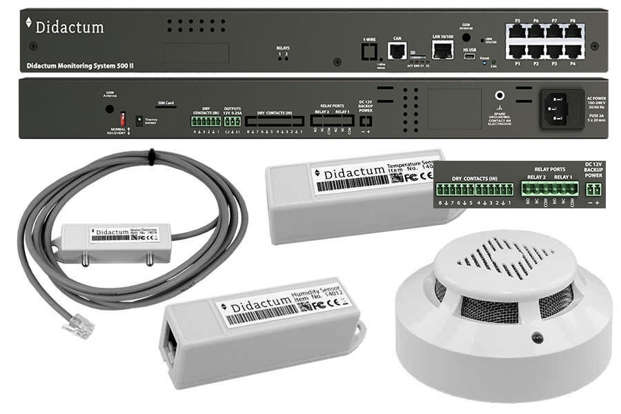 Monitoring System 500 IT basic protection
