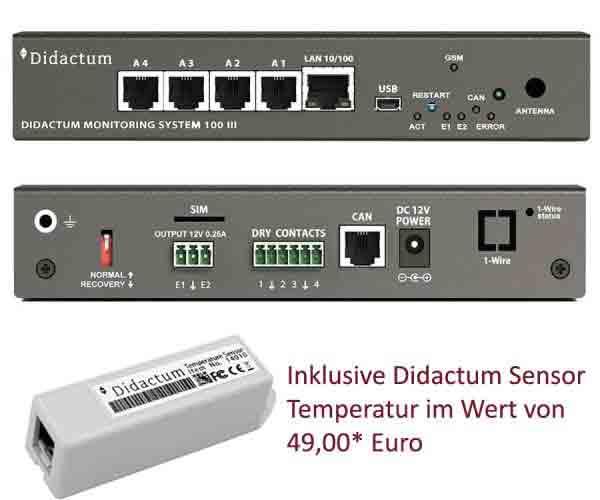 Monitoring System 100